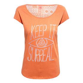 Prana Tandi - Camiseta manga corta Mujer - naranja
